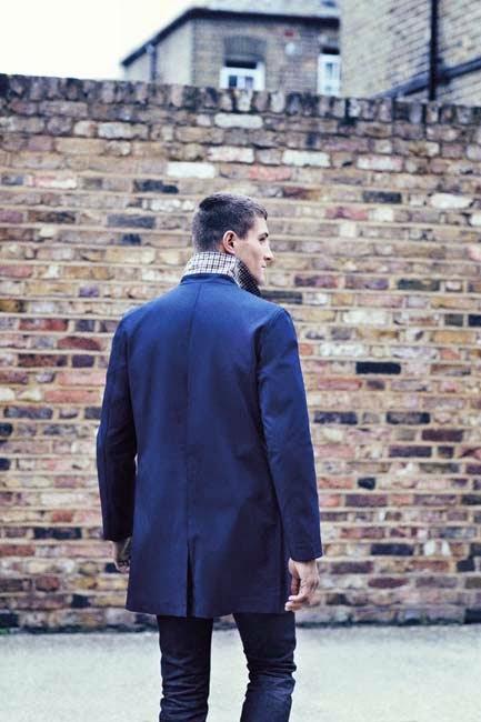 Primark online: abrigo Farrell en azul marino para hombre