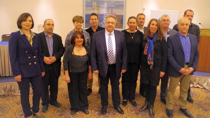 Οι πρώτοι 12 υποψήφιοι με τον Κώστα Κατσιμίγα στην Π.Ε. Έβρου
