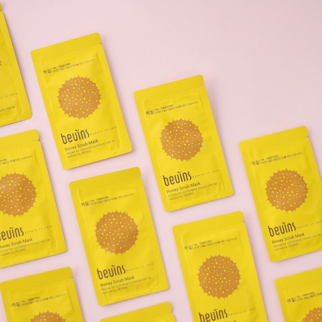 Beuins Honey Scrub Mask Pack Kbeauty