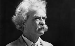 Fotografía de Mark Twain