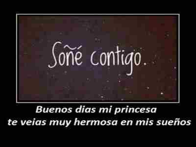 Buenos Días Princesa Frases