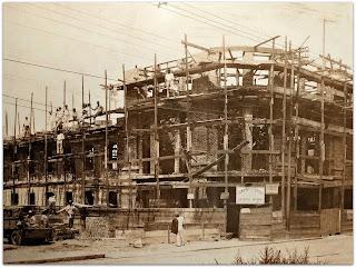 Construção do Cinema Capitólio, Porto Alegre, 1927