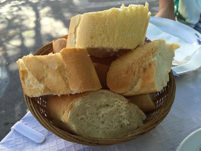Pan del restaurante Venta de Gaeta