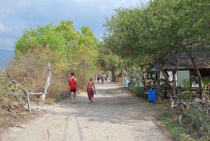 Camino de arena