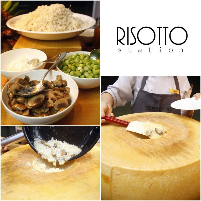Risotto Station Spectrum at Fairmont and Raffles Hotel Makati's Buon Appetito Fridays