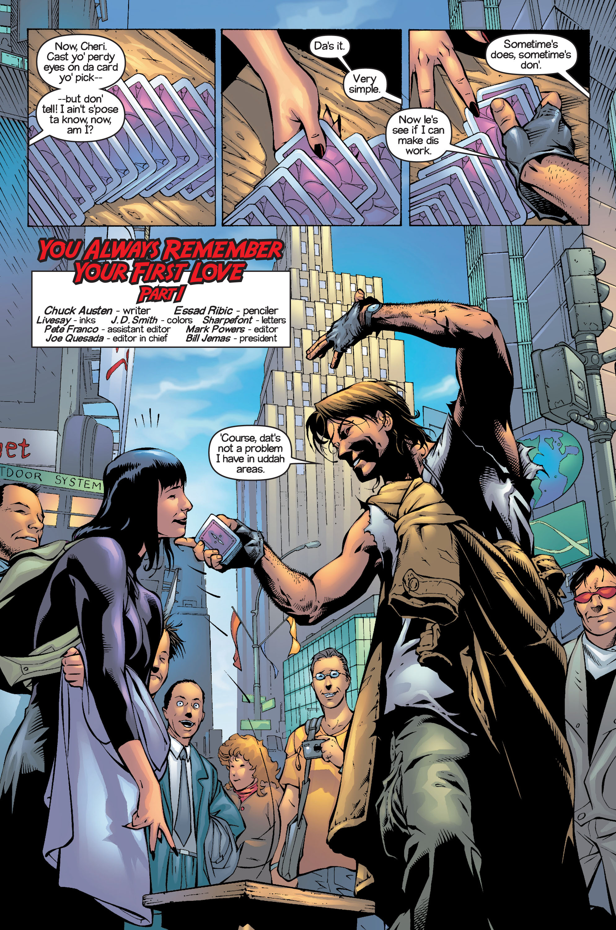 Read online Ultimate X-Men comic -  Issue #13 - 7
