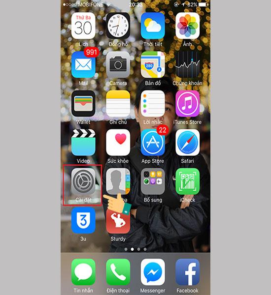 Làm sao để chặn cuộc gọi ngoài danh bạ cho iPhone 6