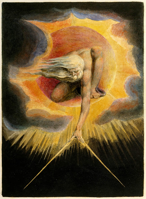 The Ancient of Days, frontispiece to Europe a Prophecy by William Blake (1794)