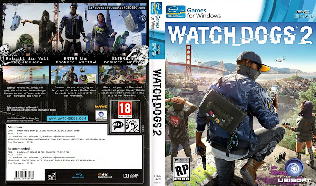 Capa Watch Dogs 2 PC