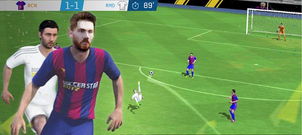تحميل لعبة Soccer Star 2019 مهكرة للاندرويد