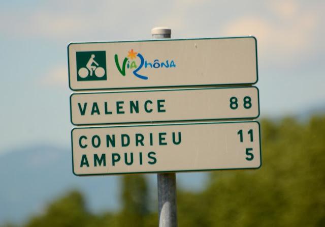 fietsen langs de Rhône, Rhône-Alpes, Via Rhona, ViaRhôna