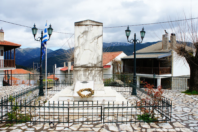 Krikello War Memorial Central Greece Attractions