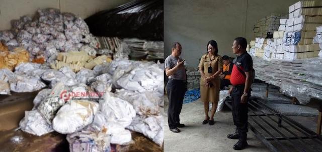 Gudang KPU Diterjang Banjir, 2.065 Kotak Suara Kardus Rusak