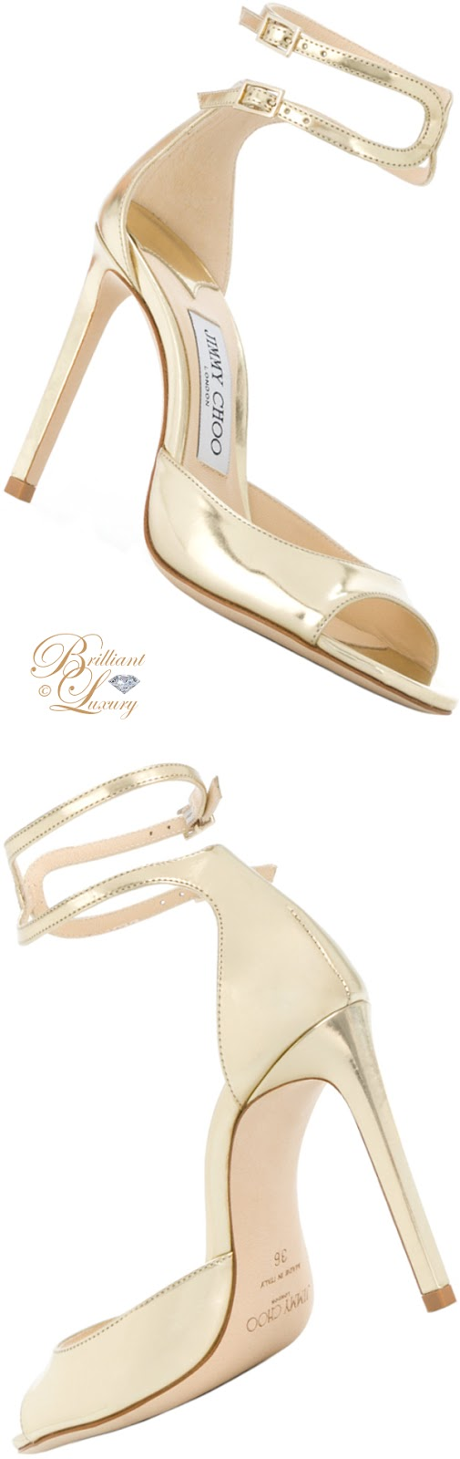Brilliant Luxury ♦  Jimmy Choo Lane sandals