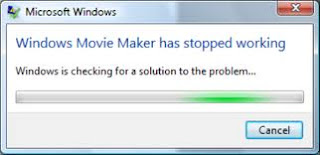 movie maker stopped working