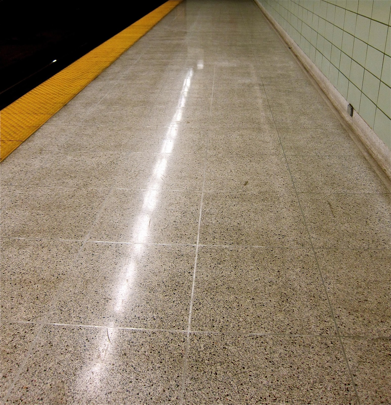 Chester station terrazzo floors