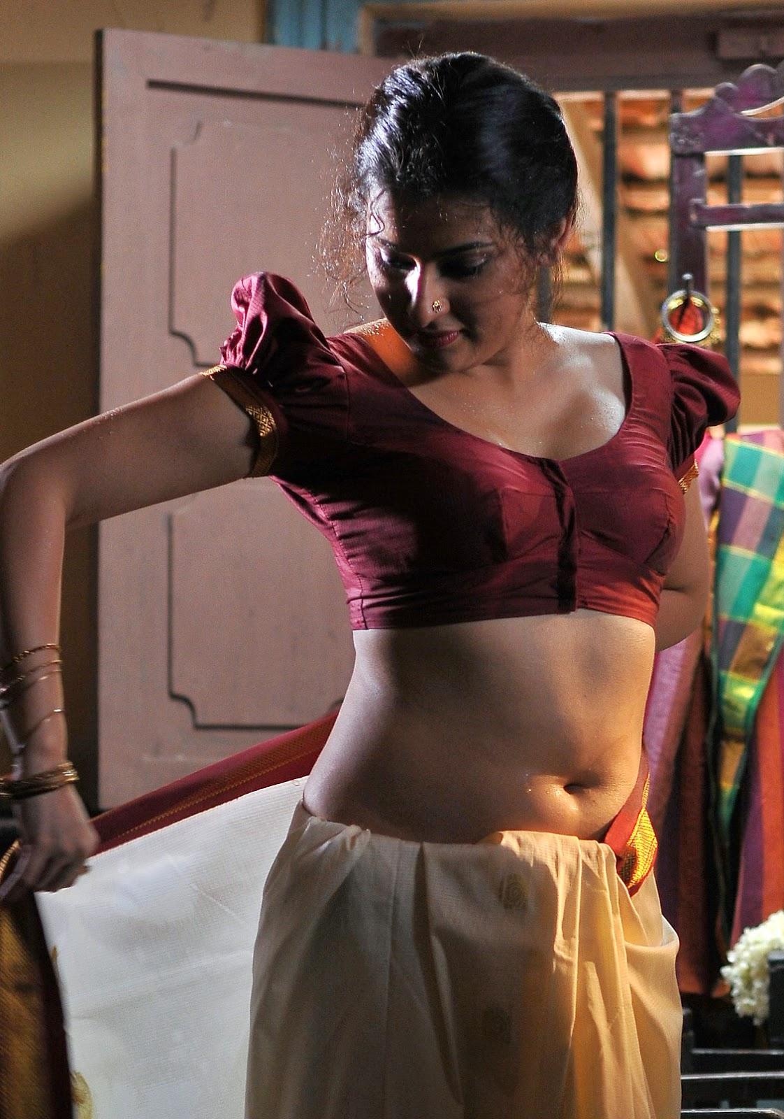 South Mallu Kerala Cheating Aunty Archana Sexy Saree -8465
