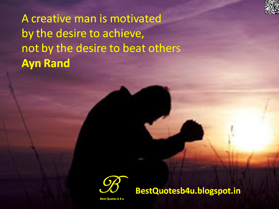 Top Best inspirational Life Quotes Sayings and inspirations from Ayn Rand with Beautiful Images and wallpapers in English