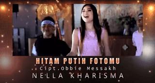 Lirik Lagu Hitam Putih Fotomu - Nella Kharisma