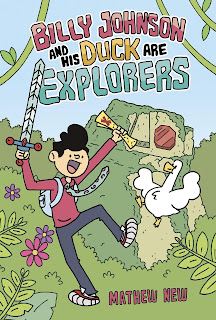 Billy Johnson & His Duck Are Explorers