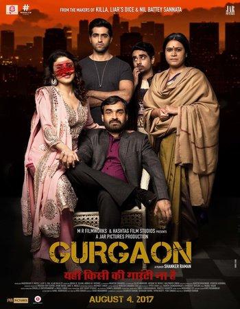 Gurgaon (2017) Hindi 480p HDRip 300MB