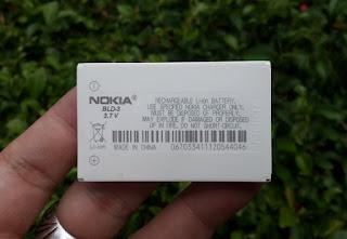 Baterai Nokia BLD-3 Jadul Murah Barang Langka