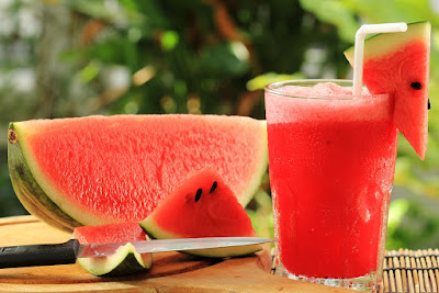 water melon is the best summer drink