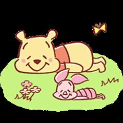 小熊维尼和小猪皮杰(可爱)