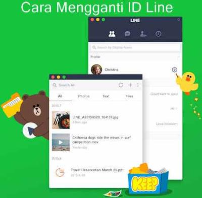 Cara Mengganti ID Line