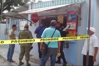 Balacera en una tienda de Las Choapas deja un niño muerto