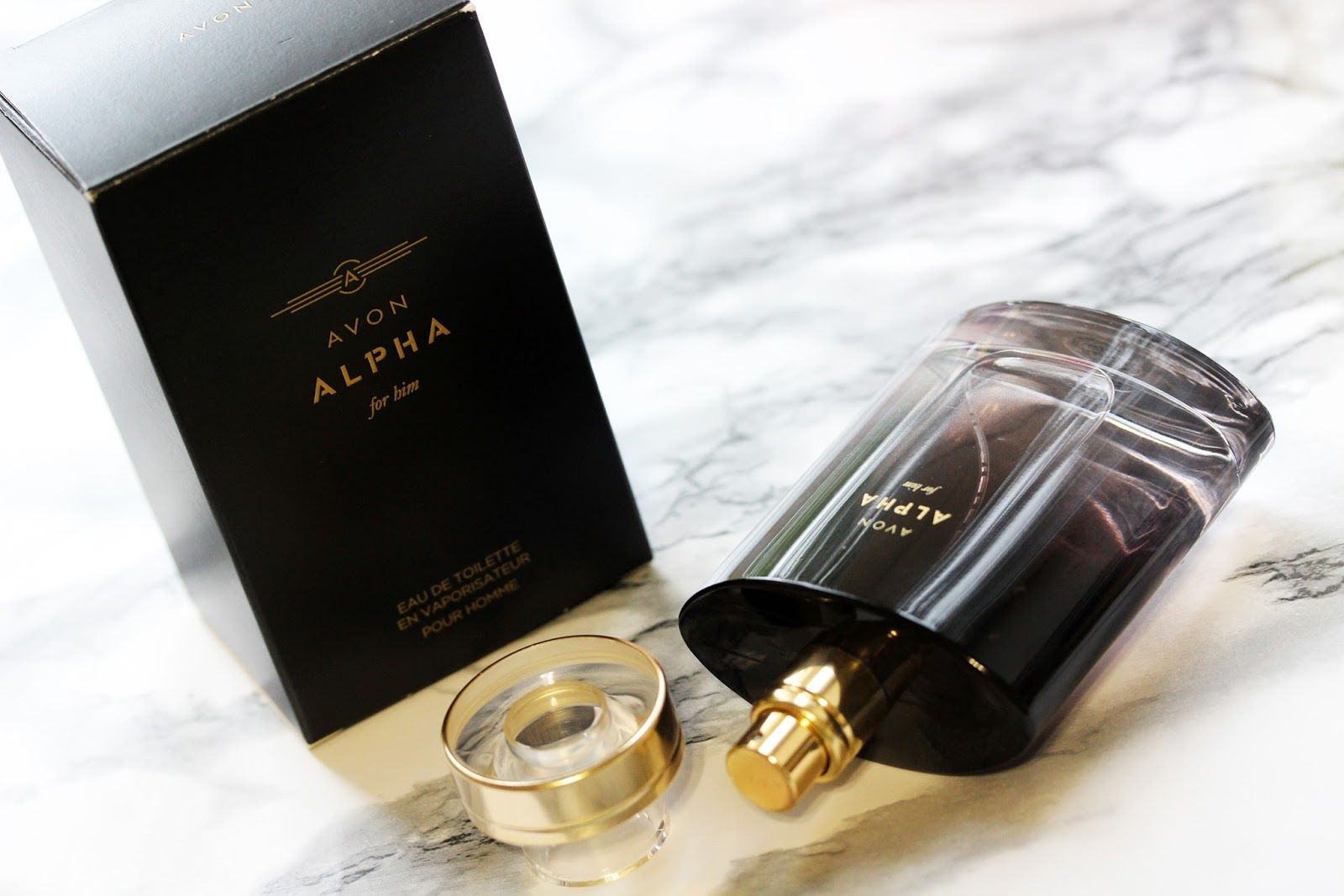 Avon alpha for him avon confidence