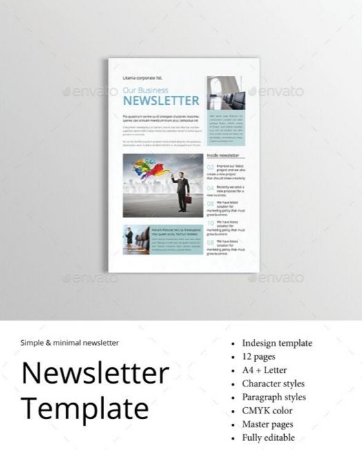 30. Newsletter Template