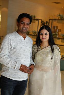 Mr. Kapil Mishra with Leher Sethi