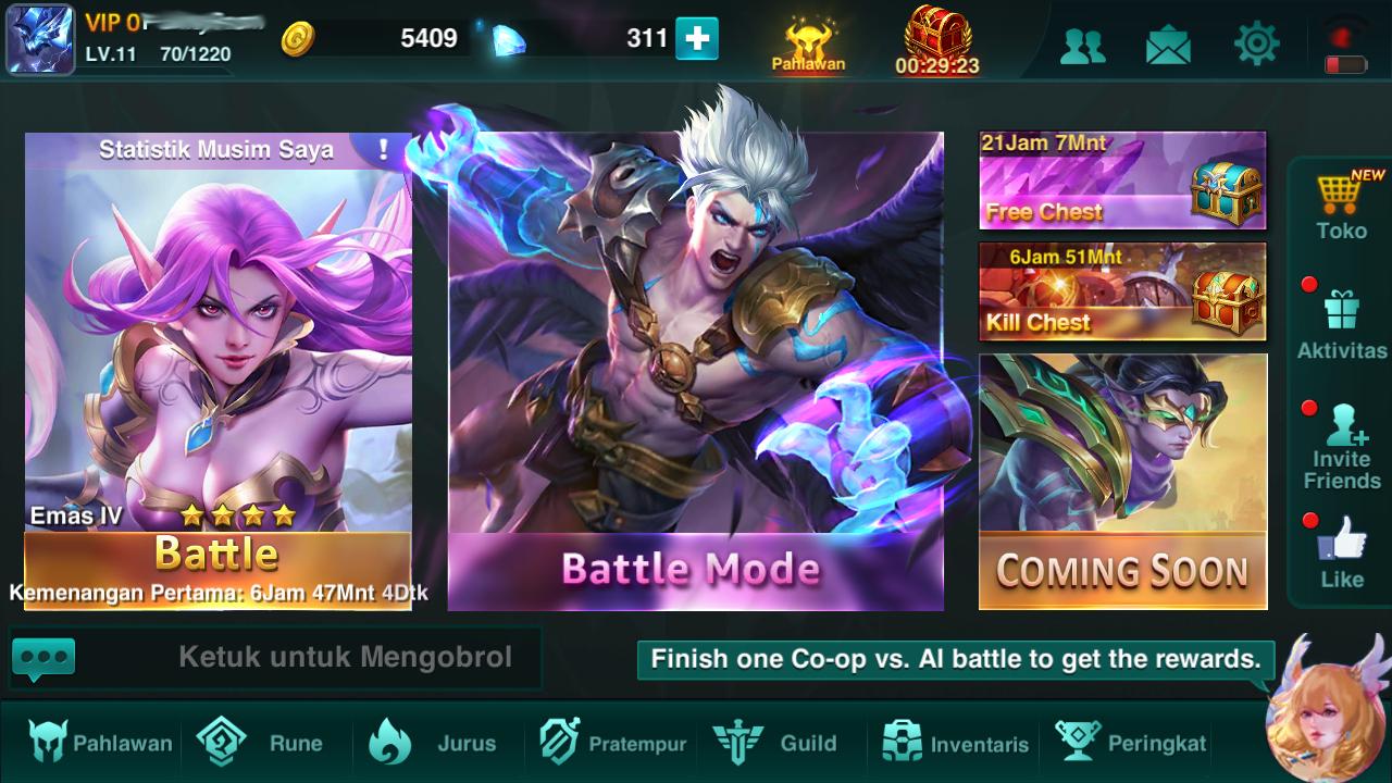 Game Moba Android Heroes Arena Di Pandangan Orang Awam Si