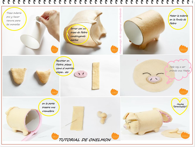 Enrhedando manualidades - Como hacer una hucha ...