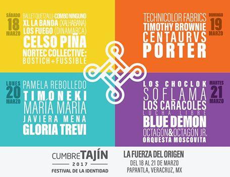 artistAS cumbre tajín 2017