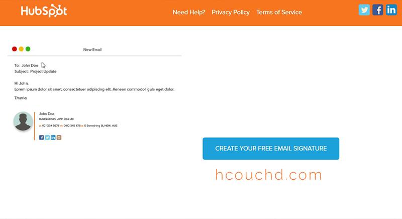أفضل مواقع لعمل توقيع البريد الالكتروني احترافي مجانا