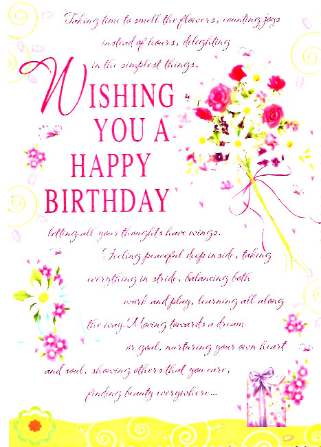 Birthday Greetings | Birthday Wishes | Free Download Cards ...