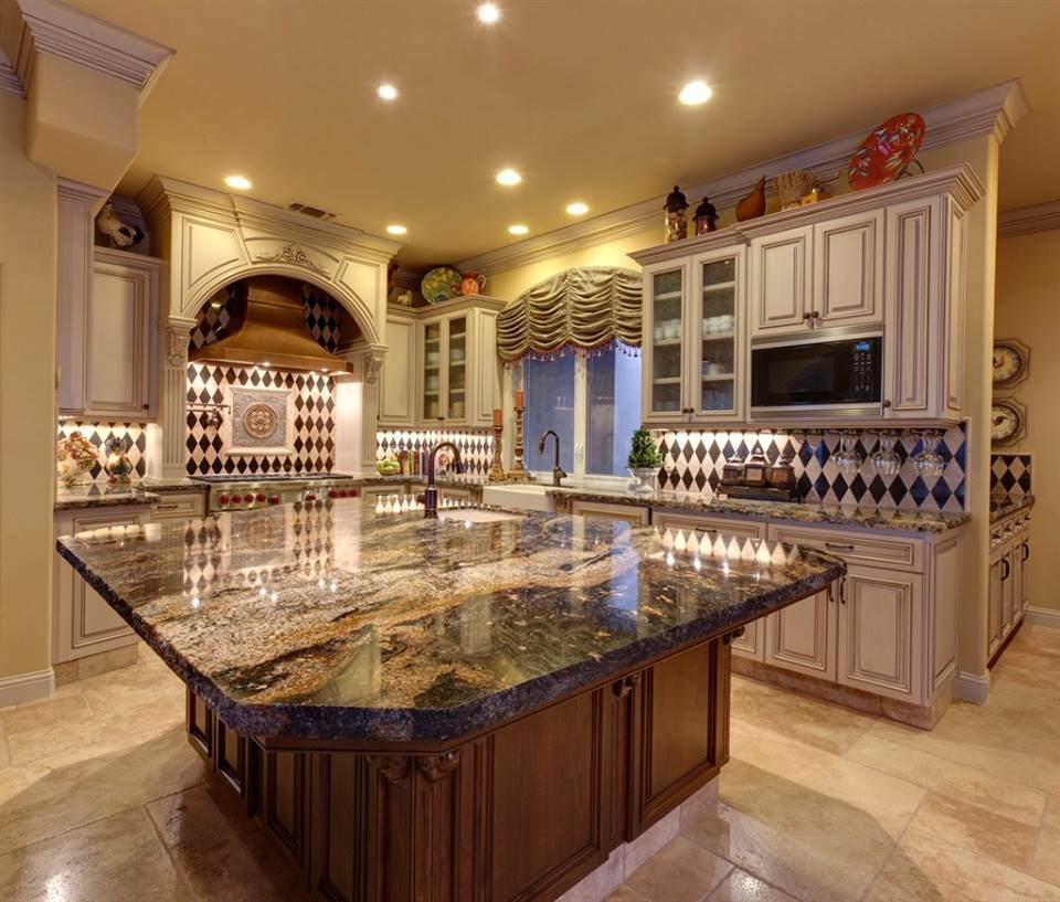 Designer Kitchen Decorating Ideas ~ Tuscan kitchen ideas on a budget with sophisticated design