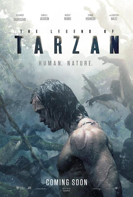 The Legend of Tarzn Teaser Poster
