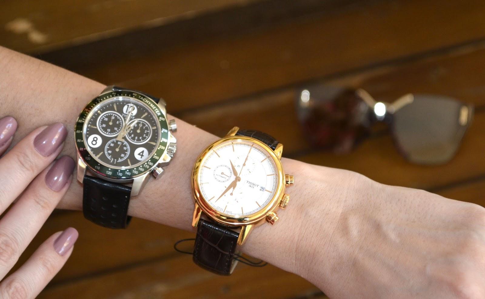 c3ebd3be96d Relógios Masculinos e Femininos da Marca Suíça Tissot.