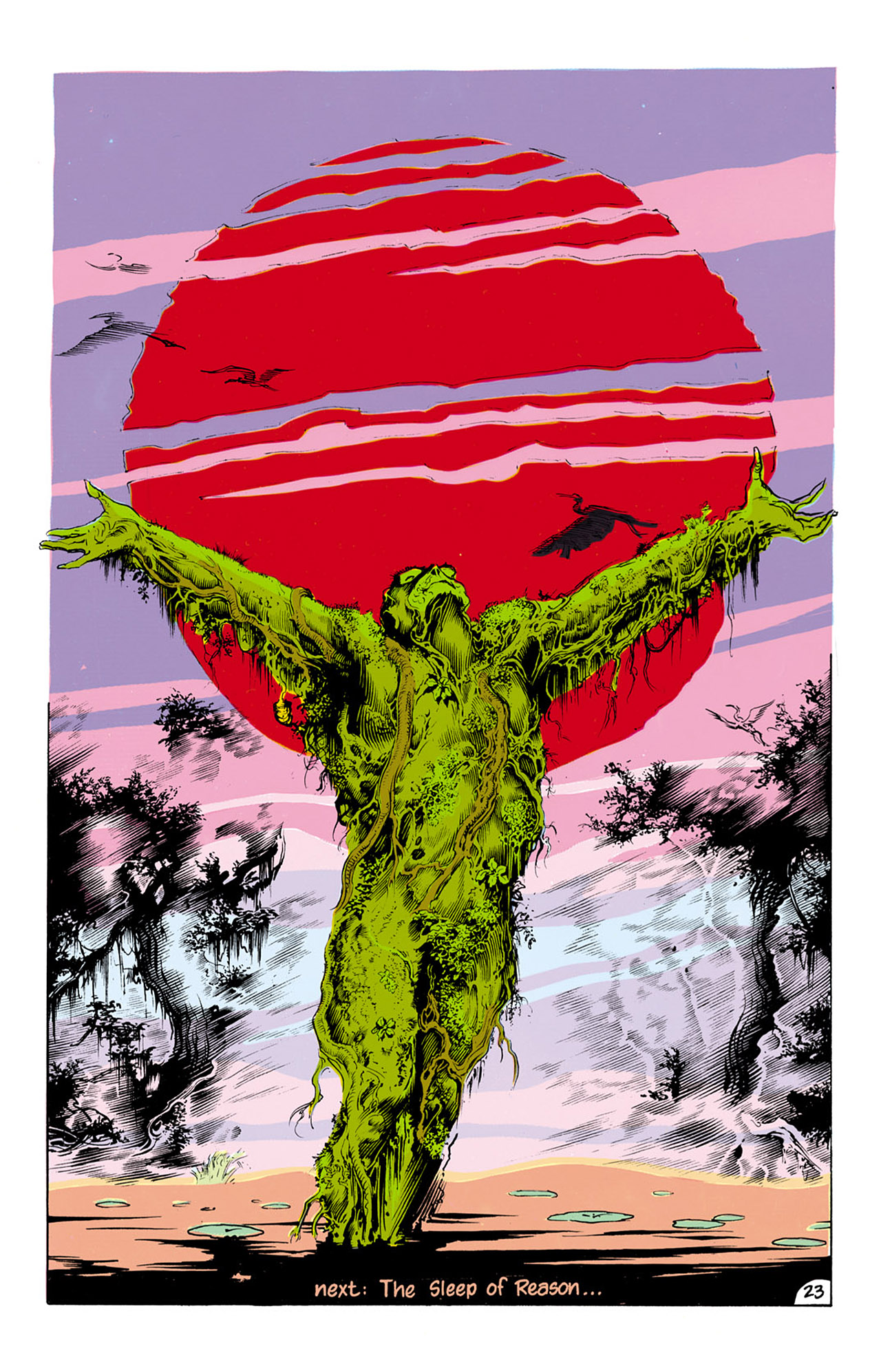 Swamp Thing (1982) Issue #24 #32 - English 24