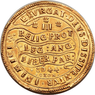 British Gold Coins Triple Unite 1644