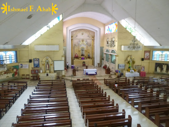 Interior of Consolacion Church in Consolacion, Cebu