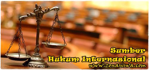 Sumber Hukum Internasional | www.zonasiswa.com