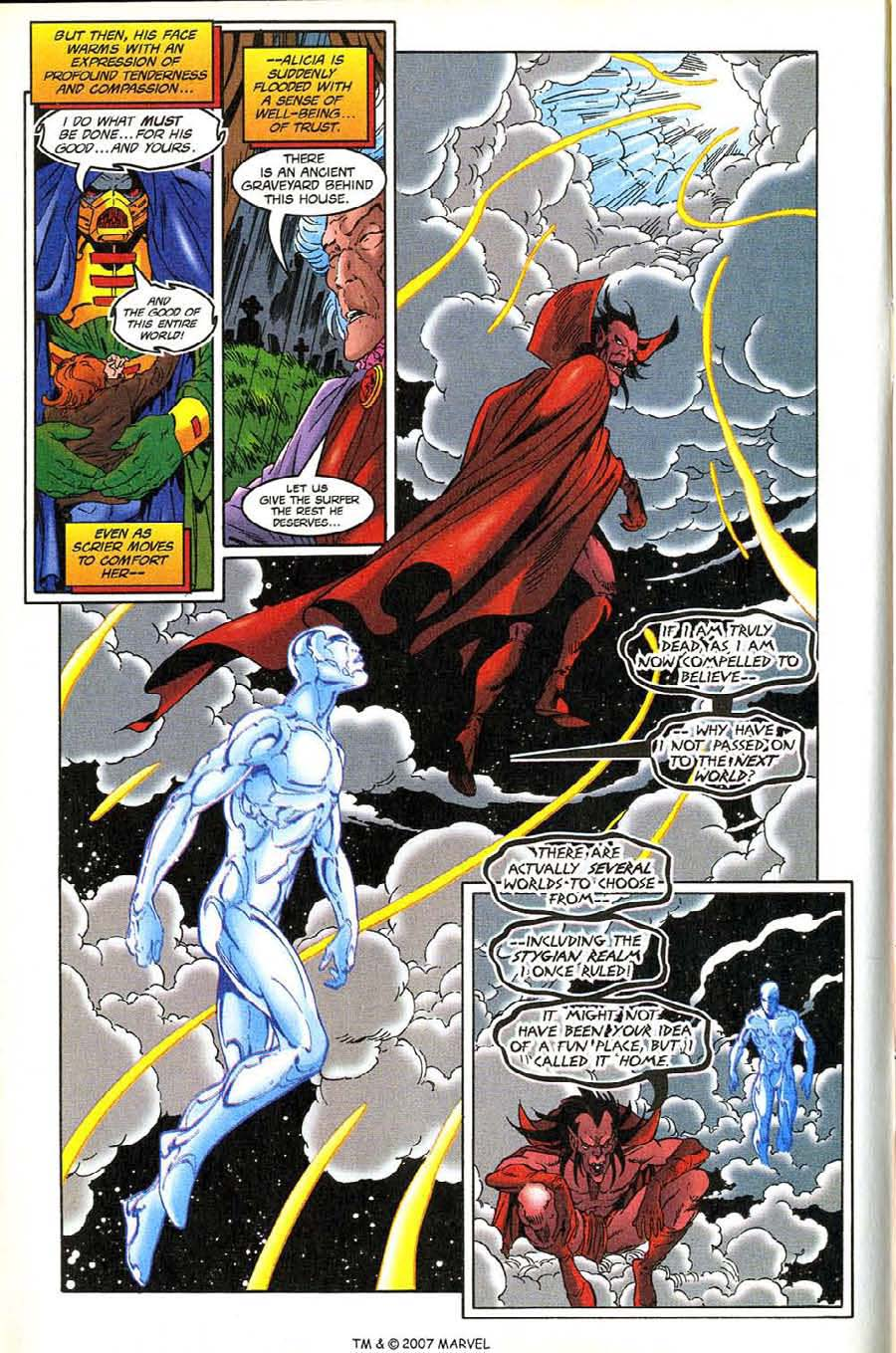 Read online Silver Surfer (1987) comic -  Issue #136 - 12