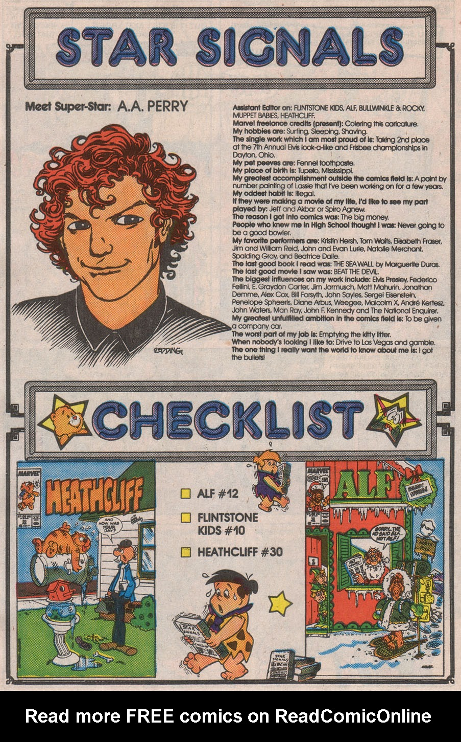 Read online ALF comic -  Issue #13 - 30