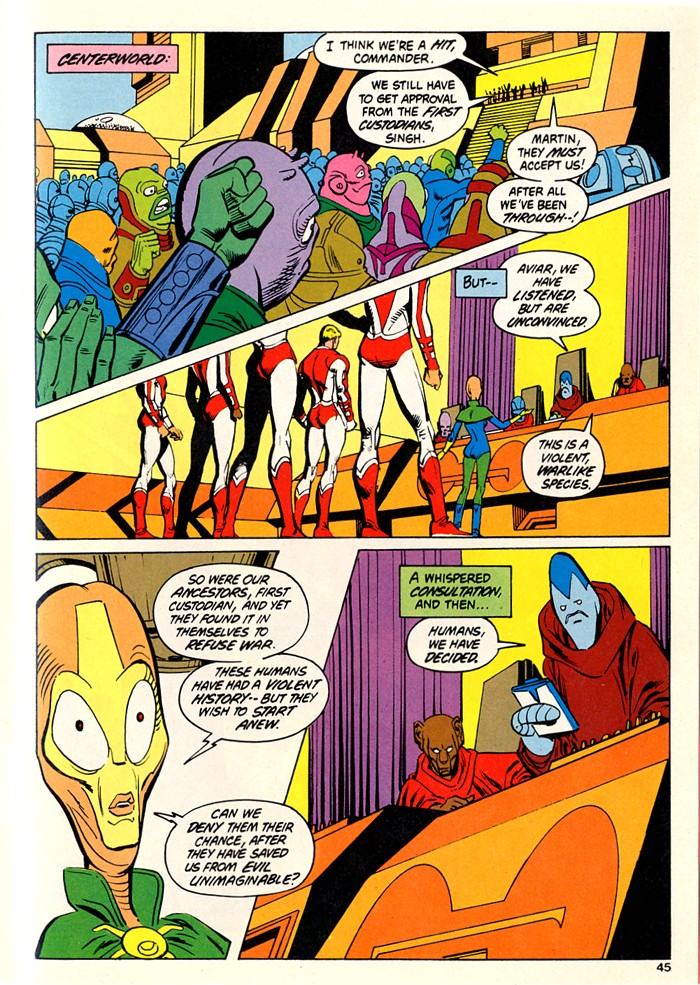Read online Atari Force (1982) comic -  Issue #5 - 43