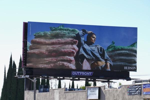 Hudson Jeans Spring 2019 billboard