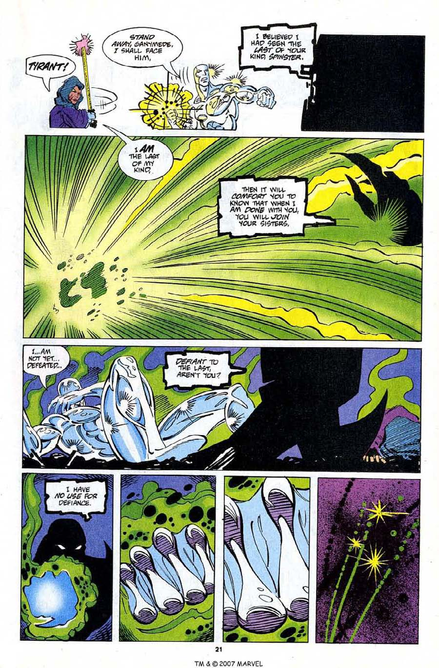 Read online Silver Surfer (1987) comic -  Issue #81 - 23